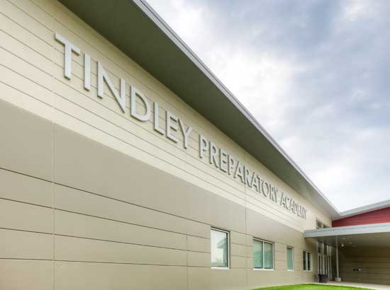 Charles A. Tindley Accelerated School serves 383 students in grades 6-12.