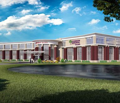 Keystone Construction chosen to build Johnson Memorial Hospital's new rehabilitation center